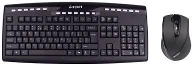 Клавиатура и мышь Wireless <b>A4Tech 9200F</b> купить в Москве ...