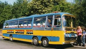 Image result for magical mystery tour bus liverpool