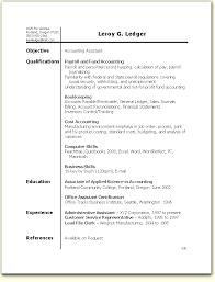 ba resume sample