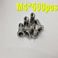 [ 18% OFF ] 150 <b>Pcs M4</b> M5 M6 Stainless Rivet Nut Kit Sus 304 ...
