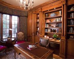 home office library design ideas with good home office built in credenza and bookcases property built home library