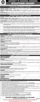university of sargodha mianwali bhakkar campus jobs 2015 university of sargodha mianwali bhakkar campus jobs 2015 application form teaching faculty