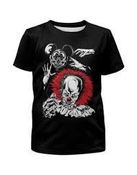 """Детские футболки c уникальными принтами """"<b>клоун</b>"""" - купить в ..."""
