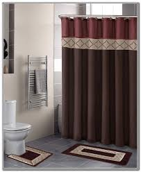 bathroom curtain sets curtains shower curtain bathroom set digihome contemporary bathroom decor showe