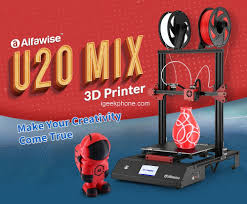 <b>Alfawise U20 Mix</b> Review - FDM 3D Printer at $339.99 (Coupon)