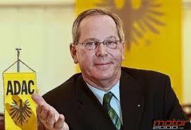 Peter Meyer, el presidente del Automóvil Club de Alemania (ADAC), ... - P.M
