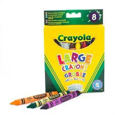 Crayola Набор <b>смываемых восковых мелков</b> 8 шт. - Акушерство.Ru