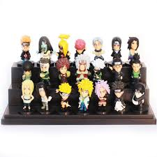<b>21pcs</b>/<b>set</b> Japanese Anime Naruto PVC Action Figure Toys Gaara ...
