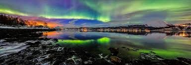 Image result for amazing northern lights panoramas