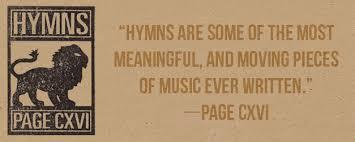 Hymns Page CXVI