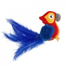 <b>GiGwi Игрушка</b> для кошек <b>MELODY CHASER</b> SERIES Попугай со ...