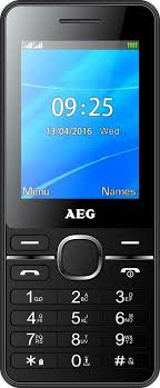 AEG <b>M1250</b> Mobile phone <b>Black</b> | Conrad.com