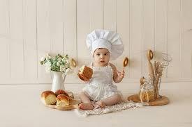toddler chef costume / chef hat / <b>Baby Chef</b> / <b>Apron</b> and Chef Hat Set ...