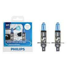 2pc <b>PHILIPS H1</b> 12258PR <b>12V55W</b> 30% P14.5s lamp premiun ...