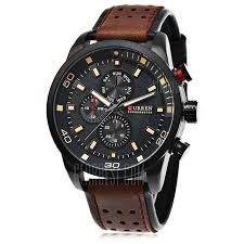 $9 with coupon for <b>CURREN 8250 Casual Men</b> Quartz Watch ...