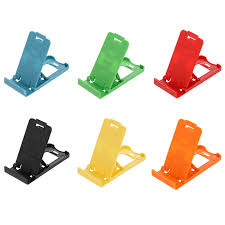 Mini <b>Mobile Phone</b> Holder Colourful Simple Universal <b>Portable</b> ...