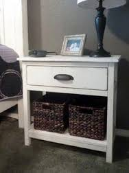 farmhouse bedside table do it yourself home projects from ana white ana white completed eco office desk