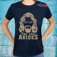 <b>The Dad Abides</b> Funny Vintage Trending Awesome Gift Fashion ...
