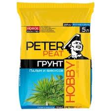 «<b>Грунт питательный Peter</b> Peat Hobby для пальм и фикусовХ-09 ...