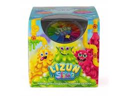 <b>Набор для создания</b> слайма <b>KiKi</b> Fluffy, Monster`s Slime Слизь ...