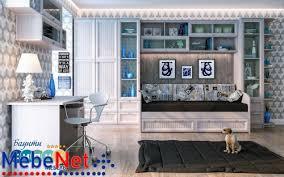 <b>Комплект</b> модульной <b>мебели Баунти</b> № 1 <b>Сканд</b>