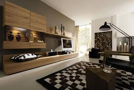 minimalis handsome wooden cabinet ideas at stunning brown wall decor and fascinating black white rug black white rug home