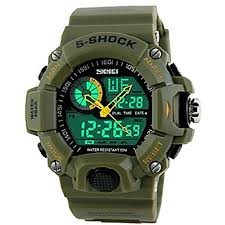 Soleasy Skmei <b>Men</b> s <b>Watch</b> Sports Dual Time Zones <b>50M</b> ...