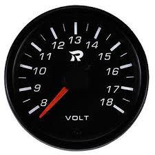 Mini Voltmeter <b>Performance</b> Gauge, 45mm, automobiles ...