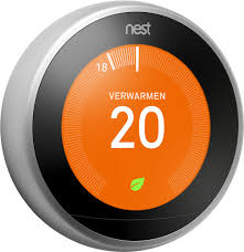 Google Nest Learning Thermostat (<b>3rd generation</b>) - Coolblue ...