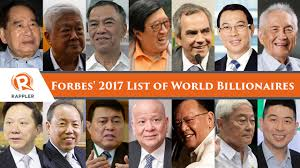 「the Forbes billionaire 2017」の画像検索結果
