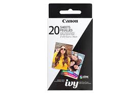 Canon ZINK™ Photo Paper <b>Pack</b> (<b>20 Sheets</b>)   Canon Online Store ...