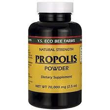 YS Royal Jelly/Honey Bee <b>Propolis Powder</b> 70000 <b>Mg</b> for Vitamin ...