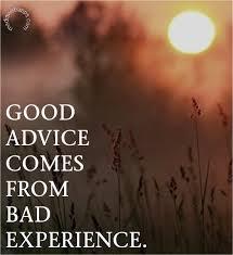 Bad Experience Quotes. QuotesGram