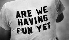 Image result for are we having fun yet