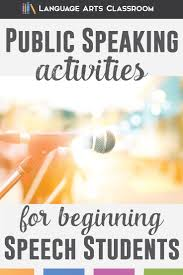 best ideas about public speaking activities public speaking activities