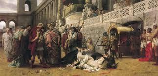 Resultado de imagem para martirio cristão