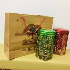 <b>Подарочный</b> набор для <b>чая</b> (<b>пакет</b>, две банки) | Chinachai