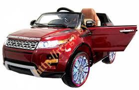Детский <b>электромобиль Hollicy Range</b> Rover Luxury Red MP4 12V ...