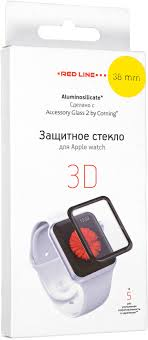 <b>Red Line</b> Corning <b>защитное стекло</b> для Apple Watch, Black (3D ...