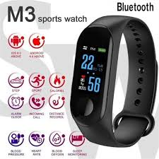M3 <b>Smart Band Watch Bracelet</b> Fitness Activity Tracker Sport ...