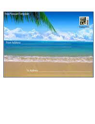 great postcard templates designs word pdf template lab postcard template 15