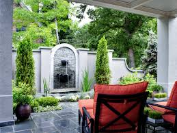 patio wall fountain