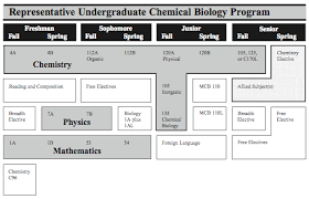 chemistry chemical biology undergraduate student learning goals chemistry professor resume
