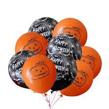 "12"" Pumpkin <b>Spider</b> Web Balloons for <b>Halloween</b> Decoration <b>Party</b> ..."