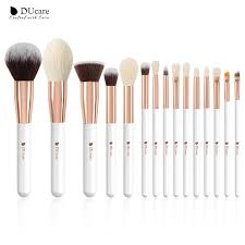 <b>DUcare 15PCS Makeup Brushes</b> Set Natural Hair Foundation ...