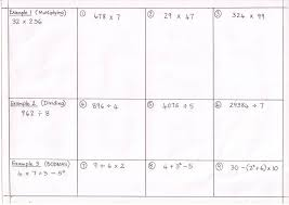 KS3 Maths | Mr Williams MathsFree worksheet – Basic Number work KS3