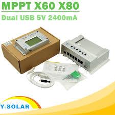 <b>Y SOLAR</b> Solar <b>Charge Controller MPPT</b> 60A 80A 12V 24V Auto Big ...