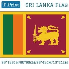 <b>Free shipping</b> Sri Lanka National Flag <b>60*90cm 90*150cm</b> 15*21cm ...