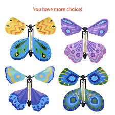 Exclusive <b>Magic Flying Butterfly</b> Flyer 10cmx10cm Easy To Fly ...