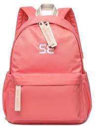Купить <b>Рюкзак школьный Sun eight</b> SE-8289 коралловый по ...